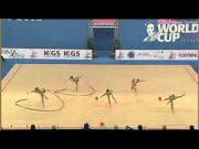 RG World Cup Pesaro 2013: 3palle/2 nastri (Final)